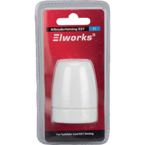 Elworks Lampfitting E27 incl E - 02990