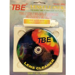 Lens reiniger voor CD/DVD/BD spelers met Antistatische borsteltjes