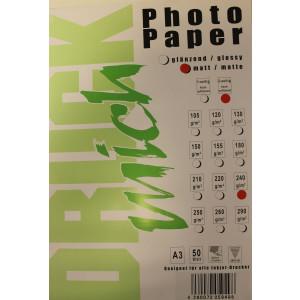 Druckmich fotopapier, A3, 240 gram, mat, 50 vel, dubbel zijdig