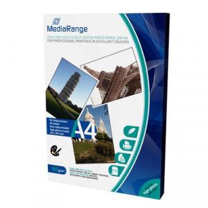 MediaRange fotopapier,A4, dubbelzijdig,160 gram, glans (glossy) 50 vellen