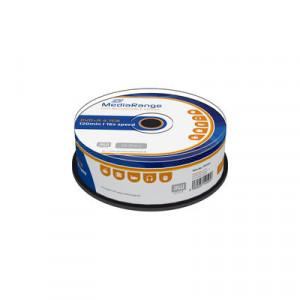MediaRange DVD+R schijven, 4.7 Gb opslagruimte, snelheid 16x, 25 stuks, cakebox verpakking