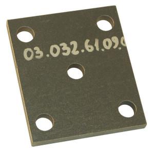 Aanlasplaat - 0303261090   5 x 18 mm   140 x 120 mm   100 x 87 mm