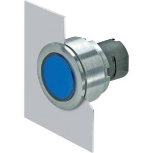 New-Elfin Verlichte drukknop blauw - 030PFLIBL