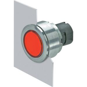 New-Elfin Verlichte drukknop rood - 030PFLIR
