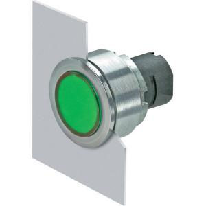 New-Elfin Verlichte drukknop groen - 030PFLIV