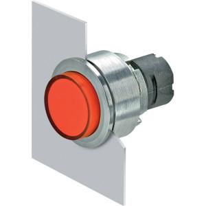 New-Elfin Verlichte drukknop rood hoog - 030PFLSR