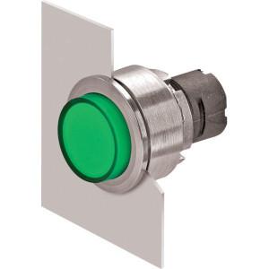 New-Elfin Verlichte drukknop groen hoog - 030PFLSV