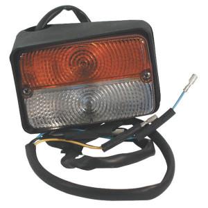 Breedtelamp links Cobo - 03271000   5091438   Opbouw   122 mm   60 mm   Orange / blanc   E13 15731, E13 A 5731