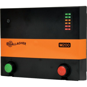 Gallagher M200 Afrasteringsapparaat - 032830GAL | 7300 V | 4200 V | 1,9 Joule | 1 Joule