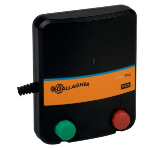 Gallagher PowerPlus M120 - 033333GAL | 6800 V | 5100 V | 1 Joule | 0,7 Joule | 0,5 km