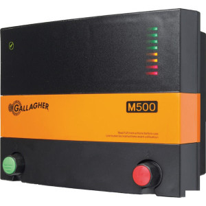Gallagher Afrasteringsapparaat M500 - 037137GAL | 9300 V | 5,2 Joule | 4 Joule | 3 (2m)