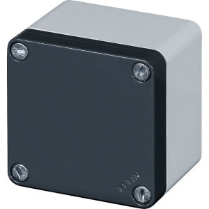 New-Elfin Aluminium drukknopkast - 040C08086 | Gegoten nitrilrubber | IP66 CEI EN 60529 | RAL7016 | RAL7035 | 65 mm