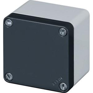 New-Elfin Aluminium drukknopkast - 040C08088 | Gegoten nitrilrubber | IP66 CEI EN 60529 | RAL7016 | RAL7035 | 85 mm