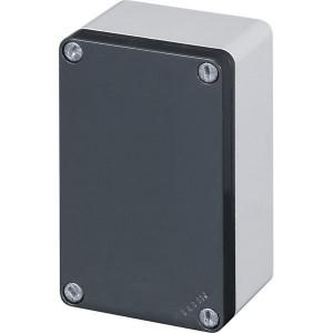 New-Elfin Aluminium drukknopkast - 040C08148 | Gegoten nitrilrubber | IP66 CEI EN 60529 | RAL7016 | RAL7035 | 140 mm | 85 mm