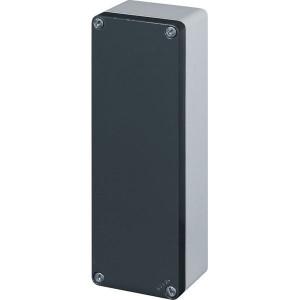 New-Elfin Aluminium drukknopkast - 040C08266 | Gegoten nitrilrubber | IP66 CEI EN 60529 | RAL7016 | RAL7035 | 260 mm | 65 mm