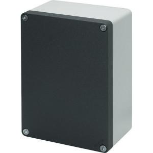New-Elfin Aluminium drukknopkast - 040C14208 | Gegoten nitrilrubber | IP66 CEI EN 60529 | RAL7016 | RAL7035 | 200 mm | 140 mm | 85 mm
