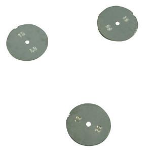 Lechler Doseerplaat Ø boring 1,0 mm RVS - 0500301C0100
