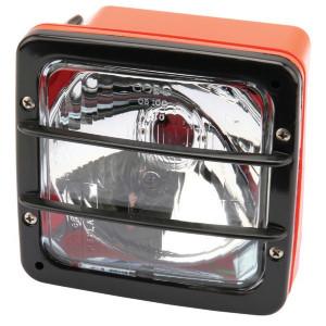 Cobo Koplamp oranje 140x140mm - 05102000 | orange | Aanbouw staand | 140 mm | 140 mm | DGM 7886 PMXLA