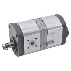 Bosch Rexroth AZPFF-10-011-011-R - 0510565035   35 mm   40 mm   80,00 mm   17 x 14 9Z mm   11 + 11 cm³/rev