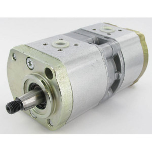 Bosch Rexroth Hydrauliekpomp dubbel Bosch - 0510565387   35 + 35 mm   40 + 40 mm   50,00 mm   1 : 5 (17 x 17)   11 + 4 cm³/rev