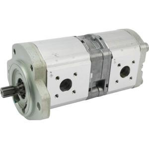 Bosch Rexroth AZPFF-12-019-011-R - 0510665128   35 mm   40 mm   82,55 mm   ANSI 9Z mm   19 + 11 cm³/rev