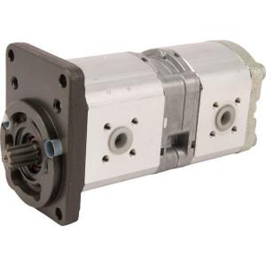 Bosch Rexroth AZPFF-11-019-011-L - 0510665375   35 + 35 mm   40 + 40 mm   80,00 mm   17 x 14 9Z mm   19 + 11 cm³/rev