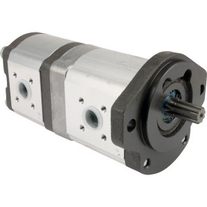 Bosch Rexroth AZPFF-10-022-011-R - 0510765029 | 22 / 11 cm³/rev | 180 / 250 bar | 210 / 280 bar | 230 / 300 bar | 2500 Rpm | 600 Rpm
