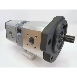 Bosch Rexroth AZPFF-11-022-022-R - 0510765058 | 22 / 22 cm³/rev | 180 / 180 bar | 210 / 210 bar | 230 / 230 bar | 2500 Rpm | 500 Rpm