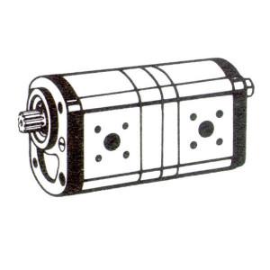 Bosch Rexroth AZPFF-10-022-014-L - 0510765315   35 + 35 mm   40 + 40 mm   50,00 mm   17 x 14 9Z mm
