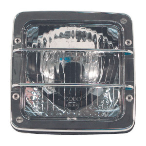 Koplamp Cobo - 0518200003 | Aanbouw staand | 140 mm | 112 mm | 140 mm | chroom | E3 M 33199-33200