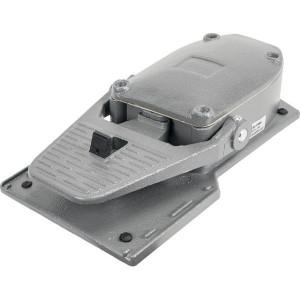 New-Elfin Voetschakelaar, 1 sl., 1 op. - 060PA11 | Aluminium behuizing | Veelzijdig inzetbaar