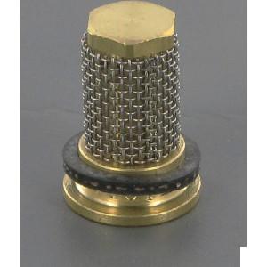 Lechler Kogel dopfilter 25 mesh messing 0,5bar - 0652613000 | 0,5 bar | 14,8 mm | Messing