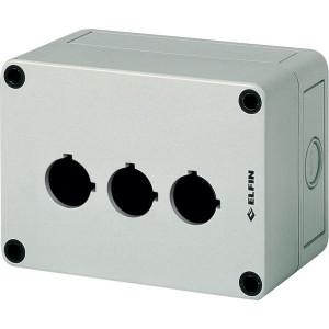New-Elfin Drukknopkast,3gat,22mm,H=81mm - 080CS09138P3L | 130 mm | 81 mm