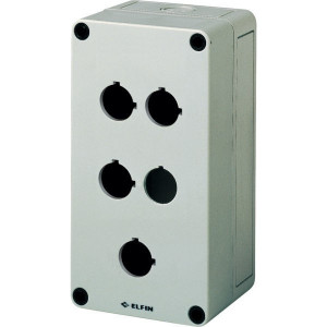 New-Elfin Drukknopkast,4gat,22mm,H=57mm - 080CS09185P4C | 180 mm | 57 mm