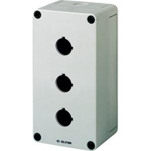 New-Elfin Drukknopkast,3gat,22mm,H=81mm - 080CS09188P3 | 180 mm | 81 mm