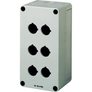 New-Elfin Drukknopkast,6gat,22mm,H=81mm - 080CS09188P6 | 180 mm | 81 mm