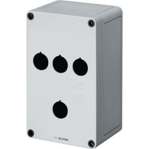 New-Elfin Drukknopkast,4gat,22mm,H=90 - 080CS11189P4C | 180 mm | 90 mm | 110 mm
