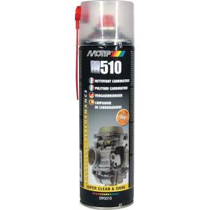Motip Carburateurreiniger 500 ml - 090510MOT | Hoog oplossend vermogen | Zeer goede reiniging | 500 ml