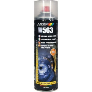 Motip Remmenreiniger Power 500 ml - 090563MOT | Hoog oplossend vermogen | Goede reiniging | 500 ml