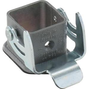 Harting Chassisdeel inbouw 3A - 09200030301 | Huis, inbouw | Lage bouwvorm | Han® A | 1 klemhaak | IP44* IP | 28x40x23 mm