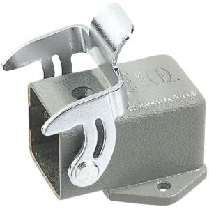 Harting Chassisdeel inbouw 3A - 09200030801 | Huis, inbouw | Liggend | Han® A | 1 klemhaak | IP44* IP | 40,5x41x27 mm