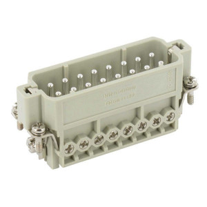 Harting Penconn. A 16P schroef 17-32 - 09200162613 | Polycarbonaat | Schroefklem | Han® A | 16 + ⏚ | 0,75 2,5 mm²