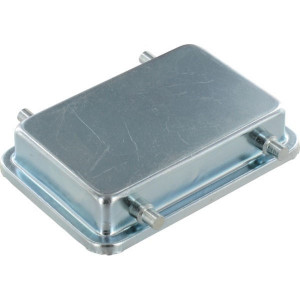 Harting Afdekkap 32A met 4 nokken, metaal - 09200325405   Voor koppelhuis   Han® A   4 nokken   IP65 IP   Aluminium