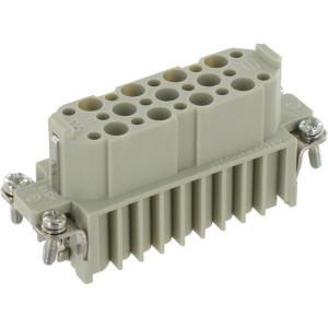 Harting Busconn. D 25P krimpklem - 09210253101 | Polycarbonaat | Krimpklem | Han® D | 25 + ⏚ | 0,14 2,5 mm² | Binnenwerk