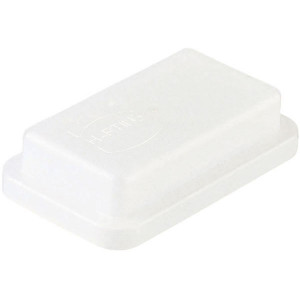 Harting Afdekkap 10B, kunststof - 09300105406   Stofkap   Han® B   Polycarbonaat   74.8x45.2x18 mm
