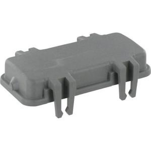 Harting Afdekkap 16B met 4 clips, kunststof - 09300165401   Afdekkap met clips   Han® B   4 clips   Polycarbonaat   94.5x45 mm