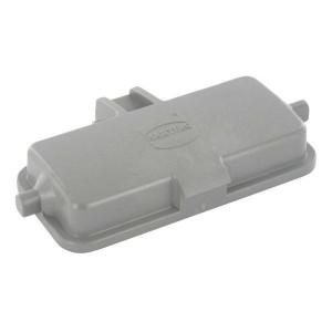 Harting Afdekkap 16B met 2 nokken, kunststof - 09300165410   Voor chassisdeel   Han® B   2 nokken   IP65 IP   Polycarbonaat