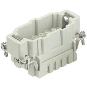 Harting Penconn. E 10P krimpklem - 09330102602 | Polycarbonaat | Krimpklem | Han® E | 10 + ⏚ | 0,14 4 mm² | Binnenwerk