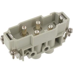 Harting Penconn. K 4/0 schroefklem - 09380062611   Polycarbonaat   Schroefklem   Han-Com®   4/0 + ⏚   1,5 16 mm²