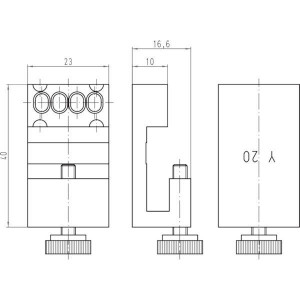 Harting Krimptangbek 0110 Han-Yellock® - 09990000341 | Han-Yellock®